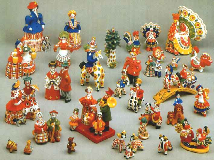 Русская народная игрушка – на радость детям и взрослым