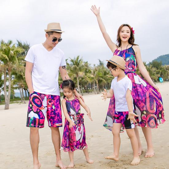 Фэмили лук: семейные ценности в моде