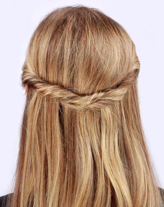 Прически на средние волосы на каждый день – 18 вариантов простых повседневных причесок с фото