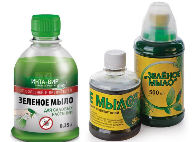 Зеленое мыло от вредителей: инструкция по применению, состав