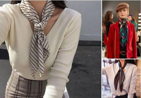 9 способов носить платок, не превращаясь в бабушку