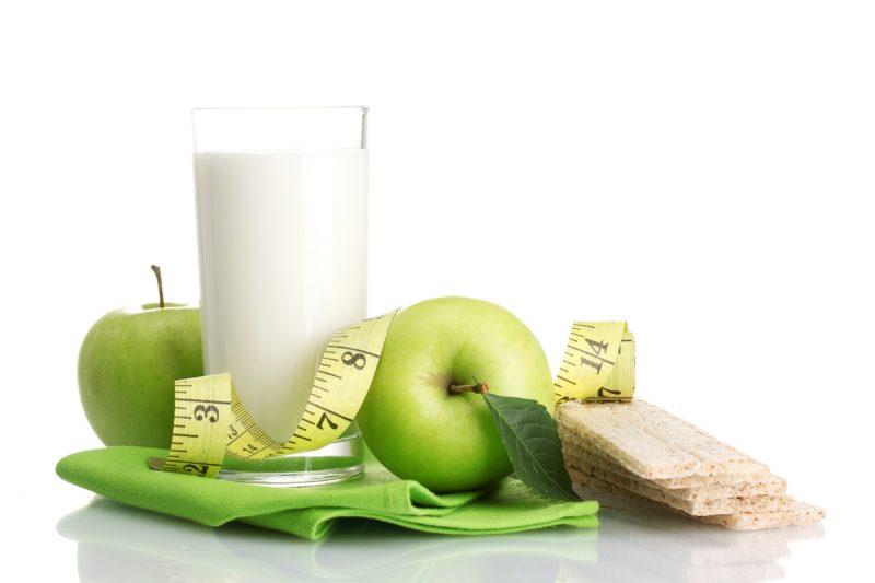 Диета на кефире и яблоках для похудения: меню на 3, 7 и 9 дней