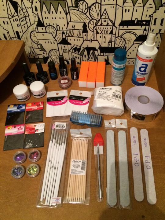Что нужно для наращивания ногтей: список материалов и инструментов для домашней процедуры