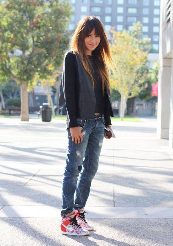 Женские кроссовки на платформе — с чем носить: идеи для создания модного и стильного образа
