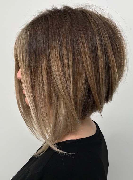 Боб-каре с удлинением — 11 вариантов с челкой и без, на средние и короткие волосы, фото