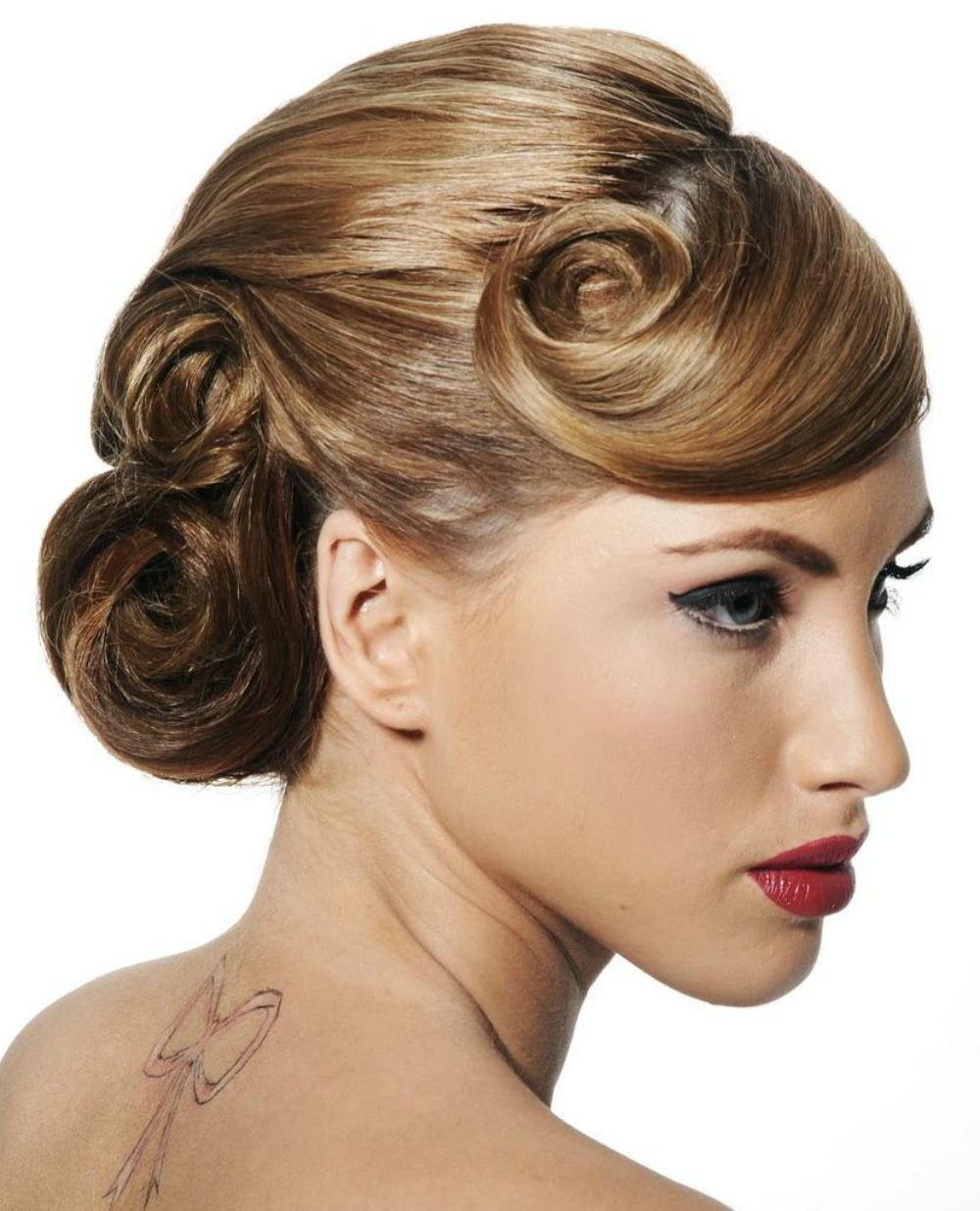 впервые, прически на средние волосы фото женские вечерние для