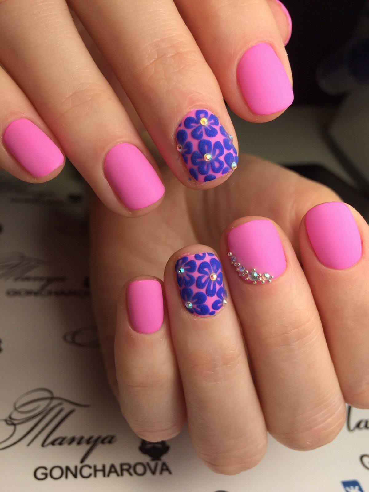 Дизайн ногтей «Цветы»: идеи цветочного маникюра с фото, новинки 2018