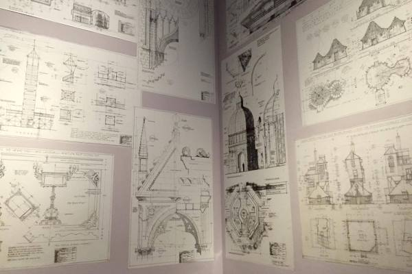 Архитектурные планы Хогвартса
