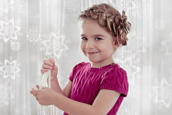 Детские прически для девочек: 18 идей красивых и модных, простых и легких причесок с фото