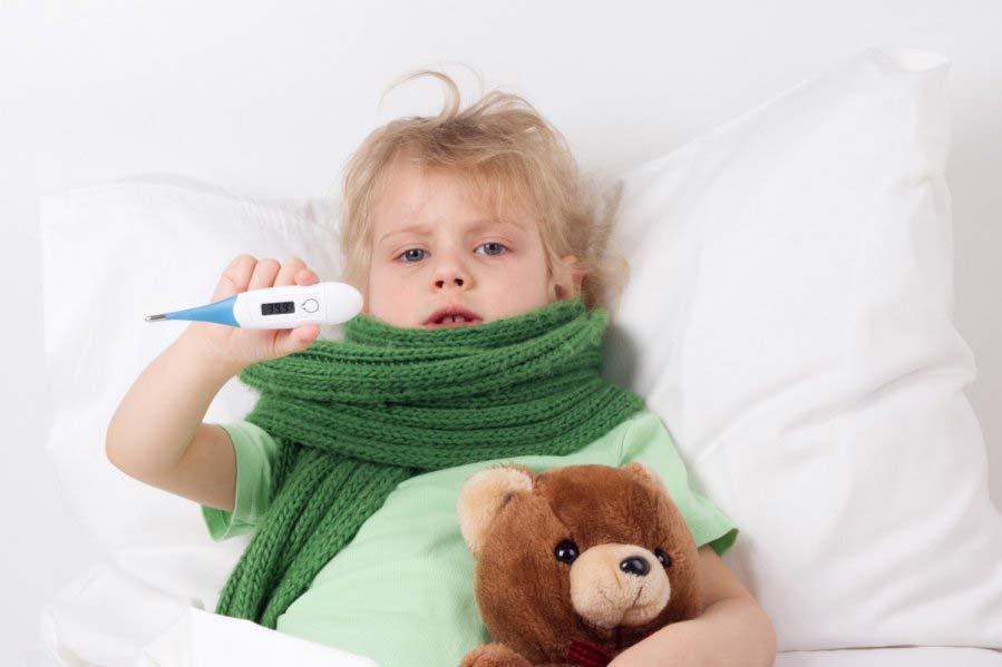 Высокая температура у ребёнка (38-39 или выше), что делать?