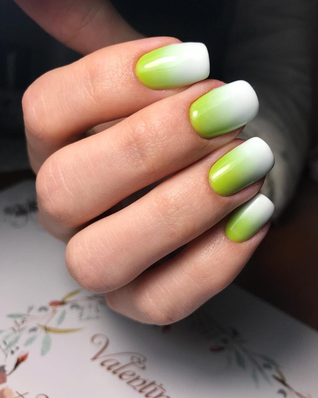 Дизайн ногтей омбре: красивые и модные варианты с фото, новинки 2018