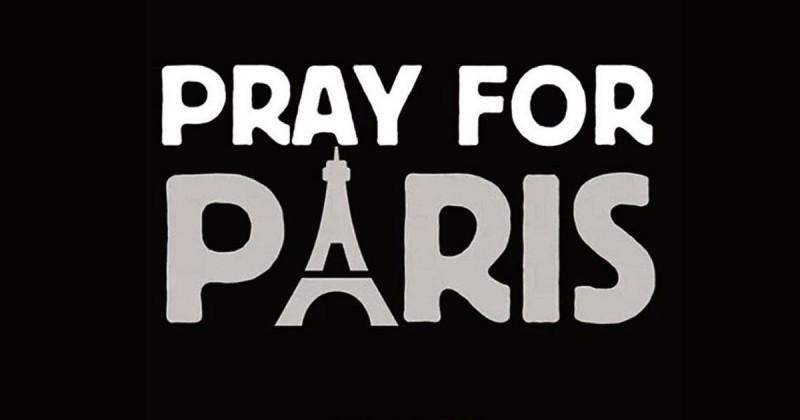 PrayForParisTribute