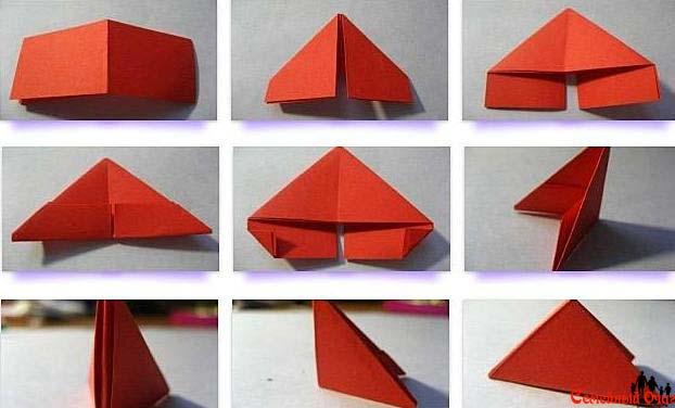 Как собрать модуль оригами