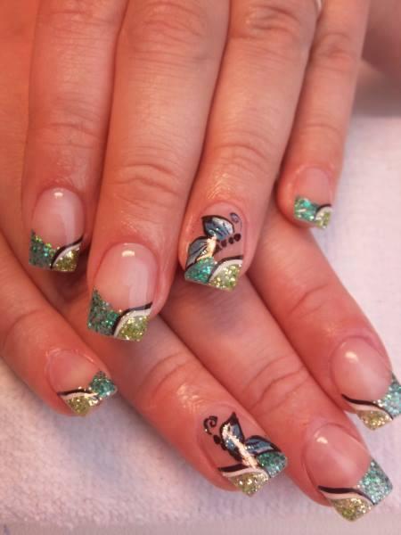 Маникюр с бабочками: идеи красивого дизайна ногтей, новинки, фото
