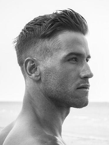 Полубокс мужская стрижка с чёлкой и без – фото и описание технологии выполнения