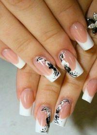 Белый дизайн ногтей — красивые варианты с фото, новинки 2018