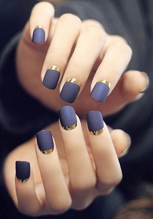 Маникюр с фольгой — 7 идей модного дизайна ногтей