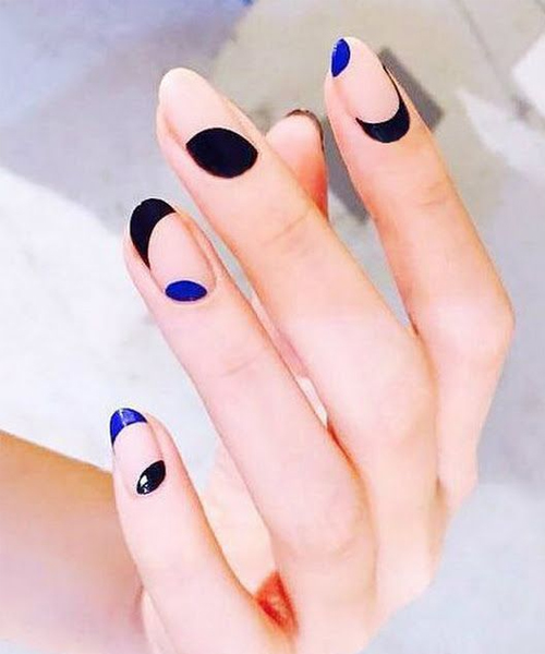 Дизайн ногтей «Геометрия»: идеи маникюра с геометрическим рисунком, новинки, фото