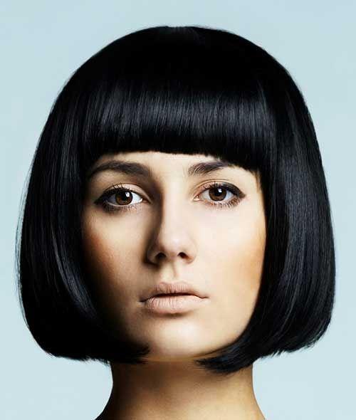 Каре с челкой: 9 вариантов женской стрижки на короткие и средние волосы