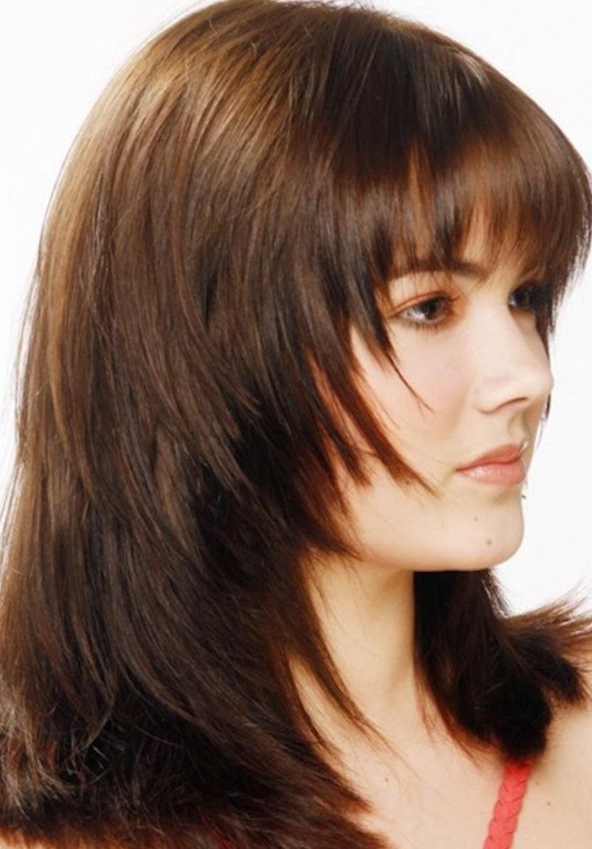 Стрижка лесенка на средние, длинные и короткие волосы, с челкой и без – более 30 фото образов