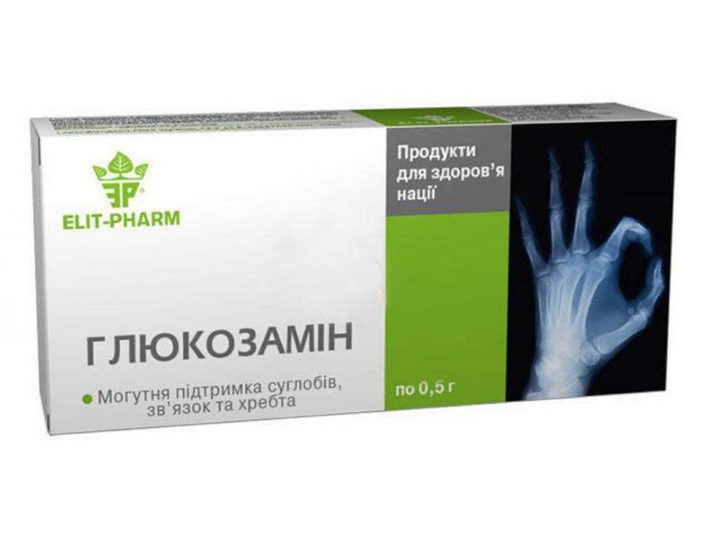 Глюкозамина Сульфат 750 мг: инструкция по применению таблеток, состав, аналоги