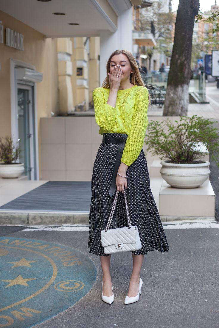 С чем носить плиссированную юбку – 10 модных и эффектных вариантов