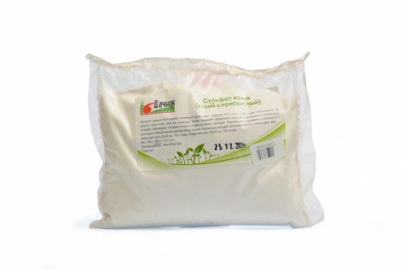 Сульфат Калия удобрение – применение в сельском хозяйстве и садоводстве