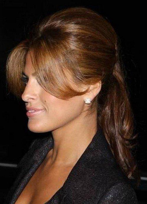 Челка на две стороны 💇 для длинных и средних волос – 5 вариантов, как сделать и уложить, фото
