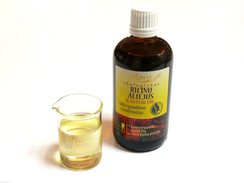 Касторовое масло для ресниц и бровей – применение