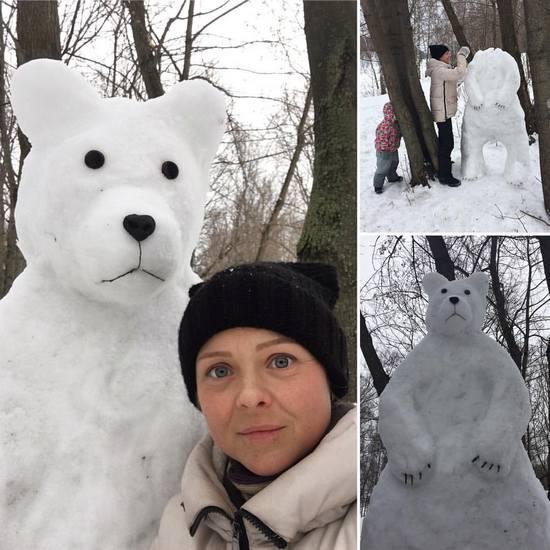 Как слепить снеговика: 20 нескучных идей, которые понравятся вашим детям