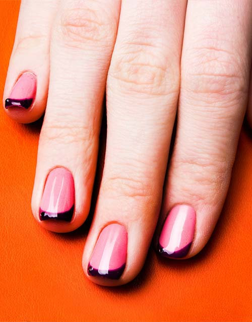 Французский маникюр на короткие ногти: красивый дизайн френча, новинки, фото