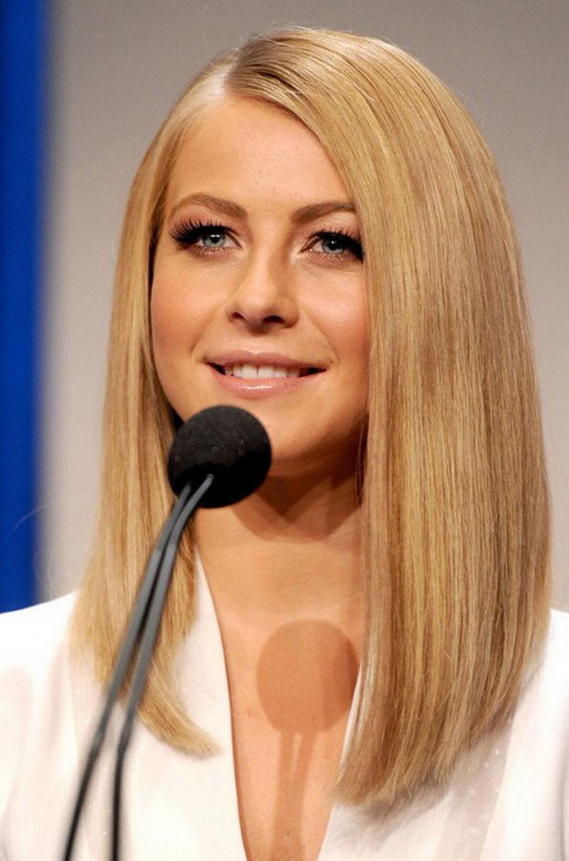 Удлиненное каре — 7 вариантов с челкой и без челки, на длинные и средние волосы