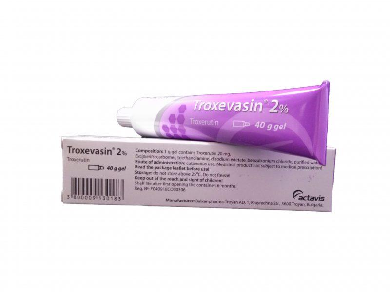 «Троксевазин»: инструкция по применению, аналоги, как применять мазь, таблетки, гель