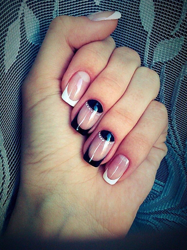 Дизайн нарощенных ногтей: новинки, фото красивого и модного маникюра наращенных ногтей