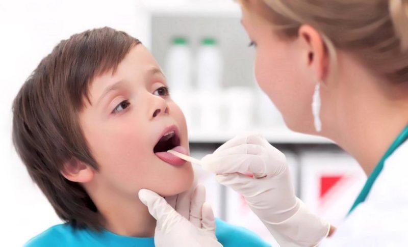 Фарингит у детей: симптомы и лечение, формы заболевания