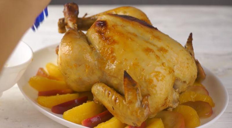 курица в духовке по-царски