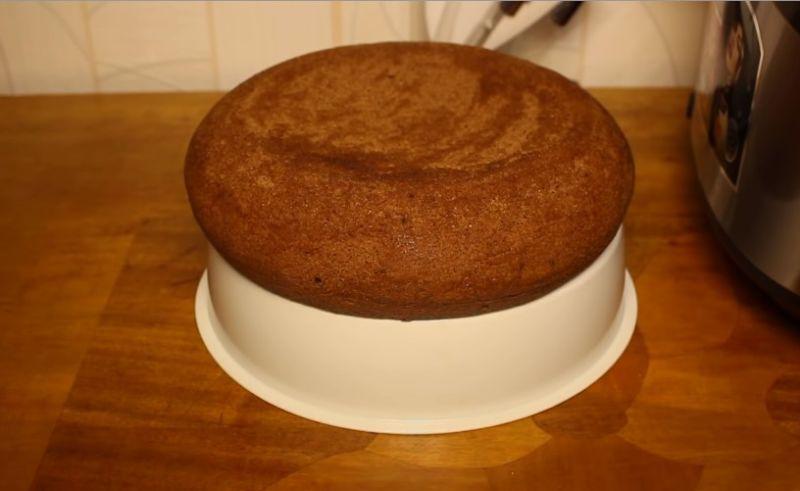 бисквит для торта Прага